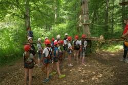 Zeltlager Tag 4 - Klettergarten